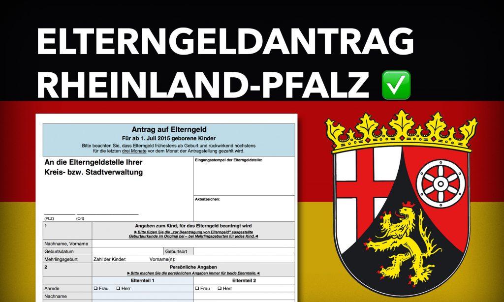 Antrag Elterngeld Rheinland-Pfalz