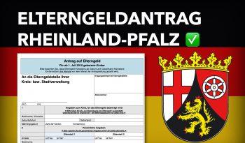 Zum Elterngeldantrag Rheinland-Pfalz
