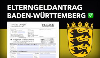 Zum Elterngeldantrag Baden-Württemberg