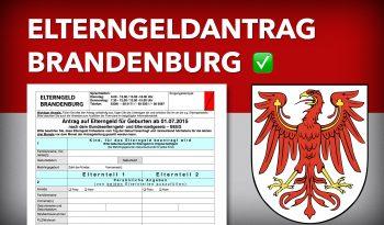 Zum Elterngeldantrag Brandenburg