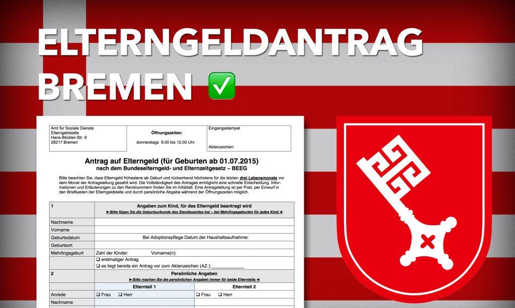 Elterngeldantrag von Bremen