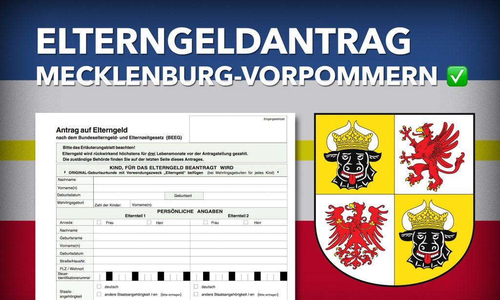 Elterngeldantrag Mecklenburg-Vorpommern