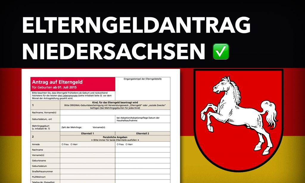 Elterngeldantrag Niedersachsen