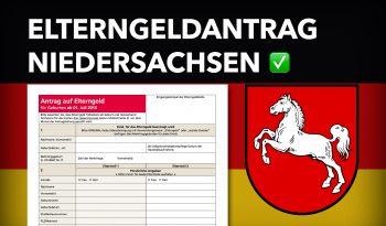Zum Elterngeldantrag Niedersachsen