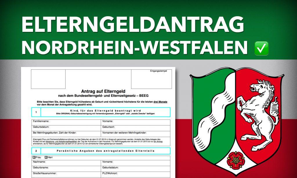 Elterngeldantrag NRW