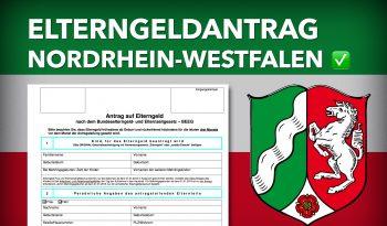 Zum Elterngeldantrag Nordrhein-Westfalen