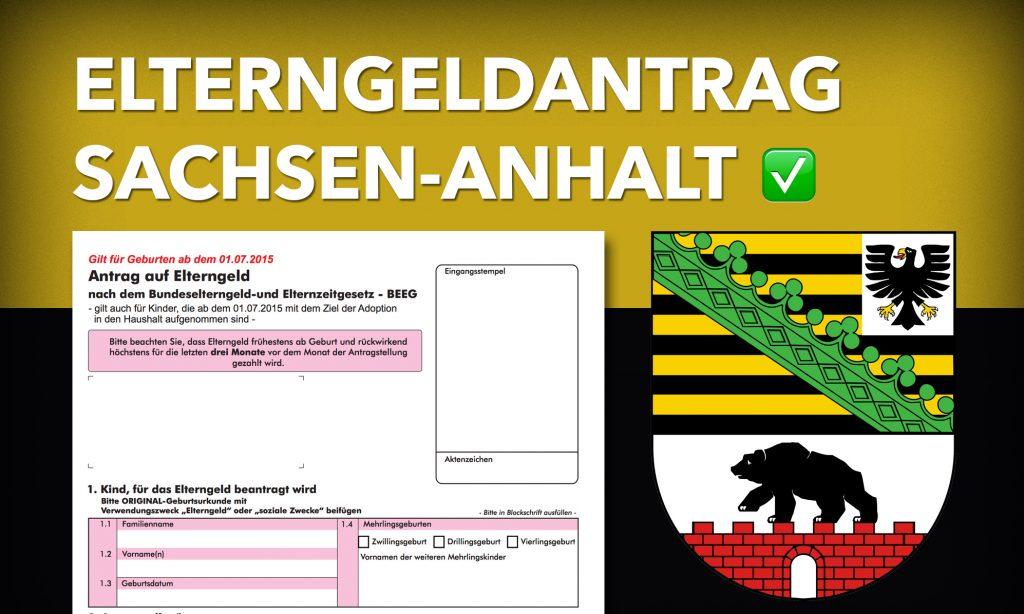 Elterngeldantrag Sachsen-Anhalt