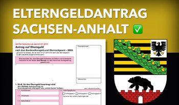 Zum Elterngeldantrag Sachsen-Anhalt