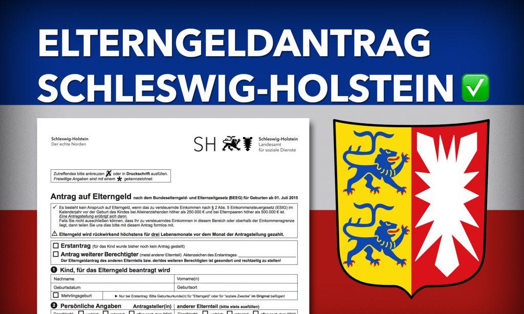 Elterngeldantrag Schleswig-Holstein