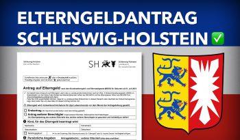 Zum Elterngeldantrag Schleswig-Holstein
