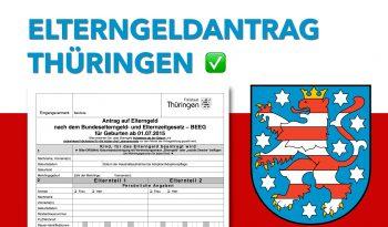 Zum Elterngeldantrag Thüringen
