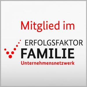 Elterngeldberatung Auszeichnung - Mitglied im Erfolgsfaktor Familie