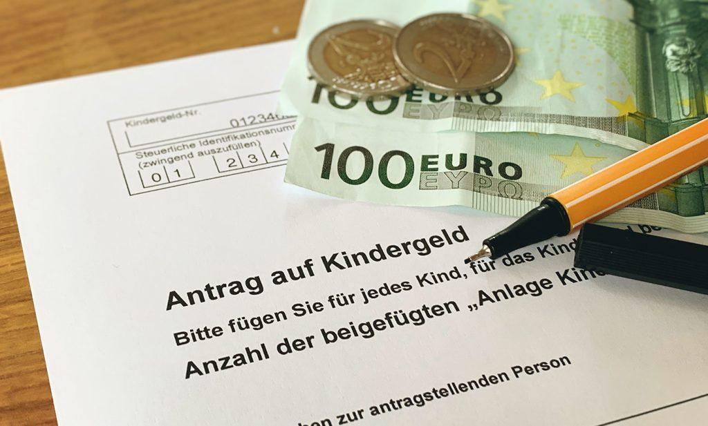 Kindergeld schriftlich beantragen (Muster)